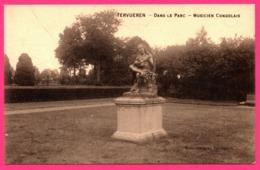 Tervueren - Dans Le Parc - Musicien Congolais - Statue - Edit. DEROCK - Tervuren