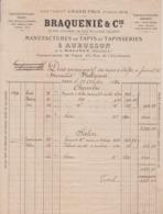 ** BRAQUENIE' & C.- PARIS.-1880.-** - 1800 – 1899