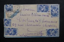 A.O.F. - Enveloppe De Khombo Pour La France En 1947 Par Avion ( Aérogramme ) Affranchissement Plaisant - L 46440 - Lettres & Documents