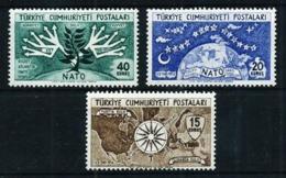 Turquía Nº 1212/14 Nuevo Cat.30€ - 1921-... Republic