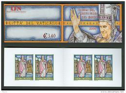Vaticano 2007 Libretto (Sass.Lib.14) **/MNH - Blocchi E Foglietti