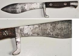 COUTEAU REGLEMENTAIRE Espagnol Bolo Mle 1942. - Knives/Swords