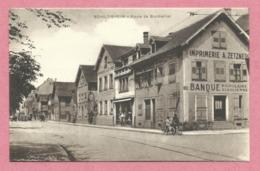 67 - SCHILTIGHEIM - Route De Bischwiller - Imprimerie ZETZNER - Banque Populaire - Schiltigheim