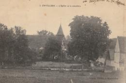 ONVILLERS  L'Eglise Et Le Cimetière - Francia