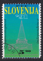 Bö_ Slowenien - Mi.Nr.  1 - Gestempelt Used - Slowenien