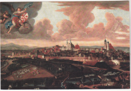 Postcard - Art - Jihlava - Pohled Na Mesto Od Jihu - VG - Ansichtskarten