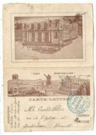 CARTE LETTRE FM ENTETE TOUT MONTPELLIER 1917 HERAULT - Marcophilie (Lettres)