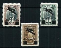 Turquía Nº A-9/11 (sobrecarga) Nuevo Cat.21€ - 1921-... Republic