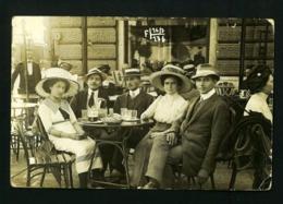 CAFE   1900s  AUSTRIA,  ABBAZIA Atelier Betty   VF USED POSTCARD - Unclassified