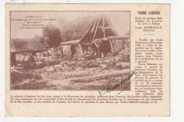 LUYNES - TERRE LIBEREE - ECOLE DE PRATIQUE VEGETALIENNE - DIRECTEUR LOUIS RIMBAULT (SIGNATURE AU RECTO) - 37 - Luynes
