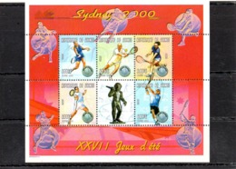 Republica De Guinea Nº 1864 AG-AL Olimpiadas, Serie Completa En Nuevo 9 € - Verano 2000: Sydney