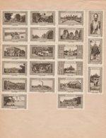 Bon Ensemble De 2 Séries Complètes Collées De 20 Vignettes (soit 40) - La Belle France - Afrique Et Asie - Vaugirard - Erinnofilia