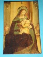 Madonna Del Latte, Allatta - Madre Di MISERICORDIA - Santino Anonimo - Santini
