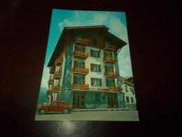 B744  Rezzoaglio Genova Hotel Americano Vecchia Auto Non Viaggiata - Italia