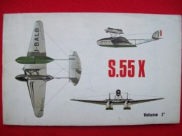 SAVIOA MARCHETTI S 55 X  AEREI AEROPLANI - Motori