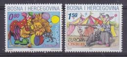 Europa Cept 2002 Bosnia/Herzegovina Mostar 2v  ** Mnh (45188N) - 2002