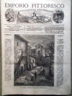 Emporio Pittoresco Del 11 Marzo 1877 Paolo Gorini Lodi Viddino Paltò Cuor Leone - Ante 1900