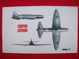 CAMPINI CAPRONI  AEREI AEROPLANI - Motori