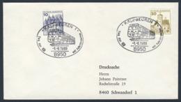 Deutschland Germany 1980 Brief Cover - Tag Der DB Mit Fahrzeugschau / Vehicle Show - Treinen