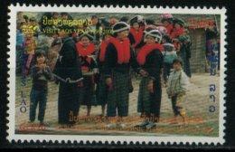 Laos 1999 Tribu Meo Année Tourisme Ethnologie   400 Kip N° 1341 MNH - Laos