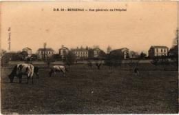 BERGERAC (24) Vue Générale D' L'Hôpital - Rare - - Bergerac