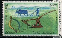 Laos 1999 Outils Traditionnels Charrue En Bois 3200 Kip N° 1340 MNH - Laos