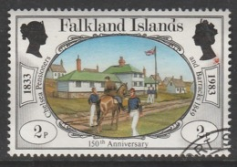 Falkland Islands 1983 The 150th Anniversary Of British Administration 2p Multicoloured SW 379 O Used - Falkland Islands