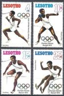 Lesotho, 1972 Olympic Games, Munich, Set 4v # S.G. 223-26 - Michel 124-27 - Scott 124-277 USED - Lesotho (1966-...)