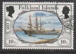 Falkland Islands 1983 The 150th Anniversary Of British Administration 10p Multicoloured SW 381 O Used - Falkland Islands