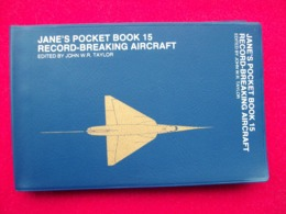 JANE'S POCKET BOOK 15 RECORD AIRCRAFT AEREI AEROPLANI - Motori