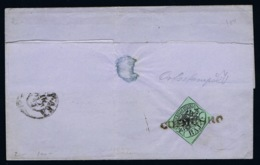 Italy Papel States: 1852 Sa 2 Cancel Codicoro - Kerkelijke Staten