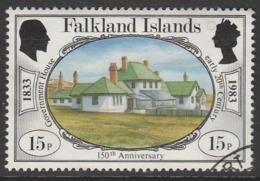 Falkland Islands 1983 The 150th Anniversary Of British Administration 15p Multicoloured SW 382 O Used - Falkland Islands