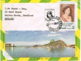 34583. Carta Aerea GUANABARA (Brasil) 1970. Fechador COLETA A England - Brazilië