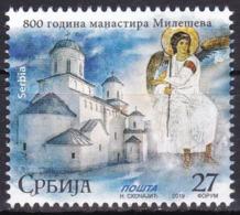 Serbia, 2019, 800 Years Of Mileseva Monastery, Set, MH, Mi# - Serbie
