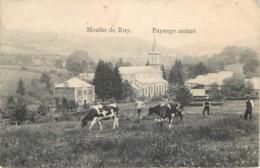 Belgique - Stoumont - Moulin De Ruy - Paysage Animé - Stoumont