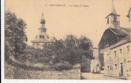 AWAN / AYWAILLE / LE CHATEAU ET L EGLISE  1925 - Aywaille