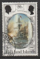 Falkland Islands 1983 The 150th Anniversary Of British Administration 20p Multicoloured SW 383 O Used - Falkland Islands