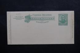 ETATS UNIS - Entier Postal Non Circulé - L 46442 - ...-1900