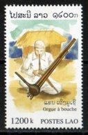 Laos 1998 Orgue à Bouche Instrument Musique / Music Instrument / Ethnologie     1200 Kip MNH Neuf - Laos