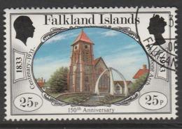 Falkland Islands 1983 The 150th Anniversary Of British Administration 25p Multicoloured SW 384 O Used - Falkland Islands