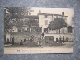 MURON - POSTES ET TELEGRAPHES - ECOLE - Frankrijk