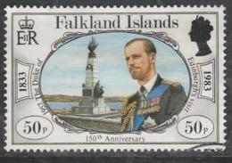Falkland Islands 1983 The 150th Anniversary Of British Administration 50p Multicoloured SW 386 O Used - Falkland Islands