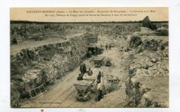 CPA  02 : FAUCOUZY MONCEAU  Mont Des Combles Extraction Des Phosphates  A  VOIR   !!!! - France