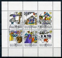 DDR Michel-Nr. 1995-2000 Kleinbogen Gestempelt - Blocchi