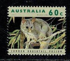 Australie  1992 Common Brushtail Possum 60 C. (o) Used - 1990-99 Elizabeth II