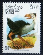 Laos 1994 Oiseaux Préhistoriques Phororhachos / Prehistoric Bird / Animaux    600 Kip MNH Neuf N° 1375 - Laos