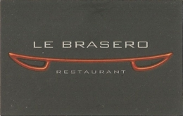 Carte De Visite - Le Brasero - Restaurant - Saint-Georges D'Oleron (17) - Visitekaartjes