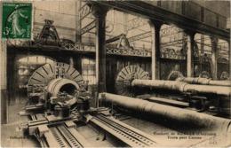 Ruelle Fonderie De Ruelle Tours Pour Canons  Plan Rare  Très Belle Carte  Postée 1916 - Andere Gemeenten