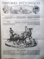 Emporio Pittoresco Del 15 Aprile 1877 Erminia Fusinato Florida Dumas Saint-Jean - Voor 1900