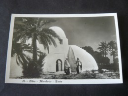 LIBYA   _   MARABUTTO -  ZAVIA - Libia